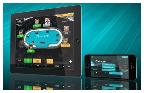 PKR #3 among mobile poker apps