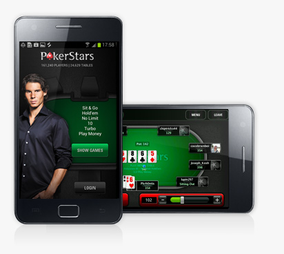PokerStars #1 among mobile poker apps