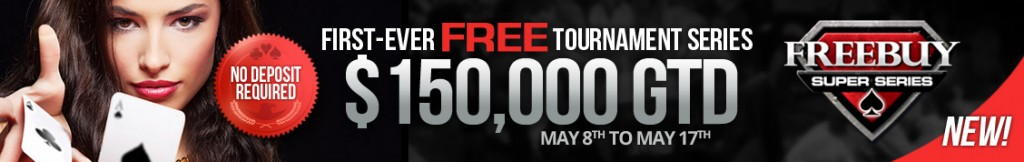 WPN Freebuy tournaments $150k GTD Super Series
