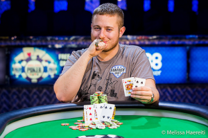 Brian Hastings wins 2 2015 WSOP Bracelets, photography by Melissa Haereiti