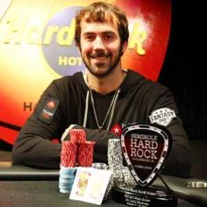 Jason Mecier wins Seminole Hard Rock Poker Open High Roller